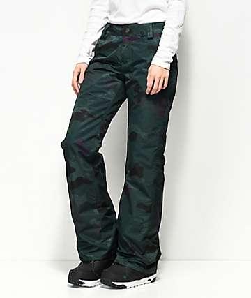 Volcom Frochickie 10K pantalones de snowboard camuflados