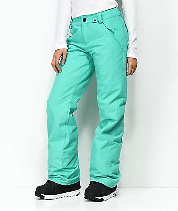 Volcom Frochickie Teal 10K Snowboard Pants