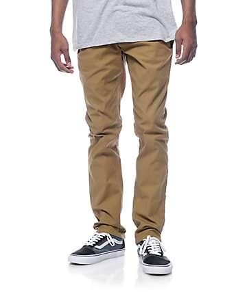 Volcom Gritter Dark Khaki Chino Pants