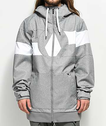 Volcom Hal Heather Grey 10K Snowboard Jacket