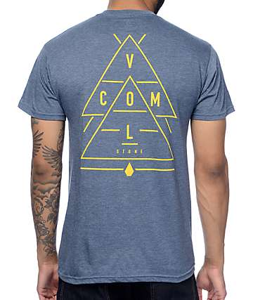 Volcom Integer Heather Navy T-Shirt