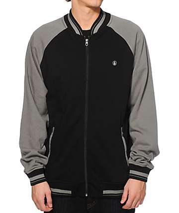 Volcom Kilmer Zip Up Crew Neck Sweatshirt