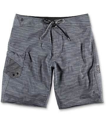 "Volcom Lido 20"" Heather Black Board Shorts"