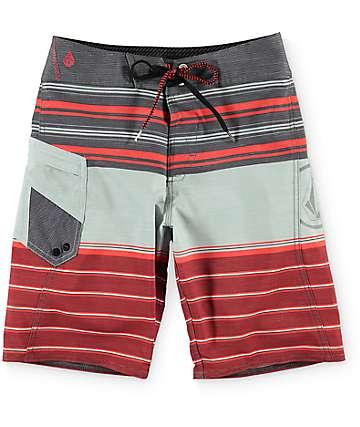 Volcom Lido Liner Mod Charred Board Shorts