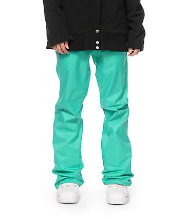 Volcom Logic Island Green 8K Snowboard Pants