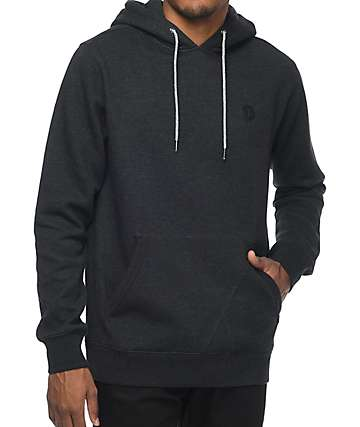 Volcom Lonely Stone Grey Fleece Hoodie