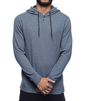 Volcom Murphy Hooded Thermal Henley Shirt