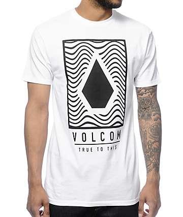 Volcom Mysteric White T-Shirt