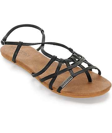 Volcom No Sweat sandalias negras