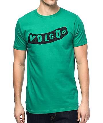 Volcom Pistol Green & Black T-Shirt
