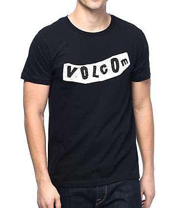 Volcom Pistol camiseta en blanco y negro