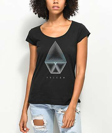 Volcom Radically Rad Black T-Shirt