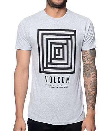 Volcom Reality Heather Blue T-Shirt