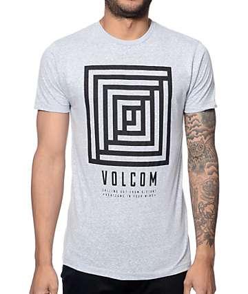 Volcom Reality Heather Blue T-Shirt