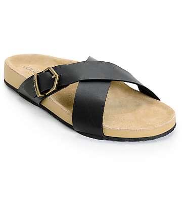Volcom Relax Black Sandals