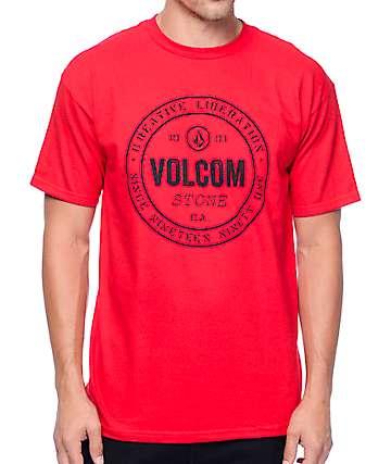 Volcom Riot Red T-Shirt
