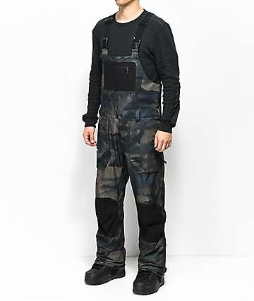 Volcom Roan Camo 15K Snowboard Bib Pants