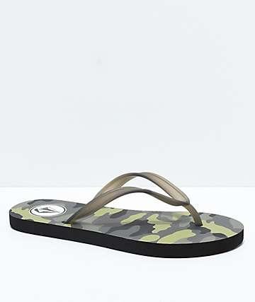 Volcom Rocking 3 Camo Sandals