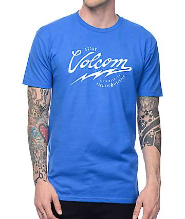 Volcom Seal Royal Blue T-Shirt