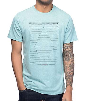 Volcom Seizmac Front Light Blue T-Shirt