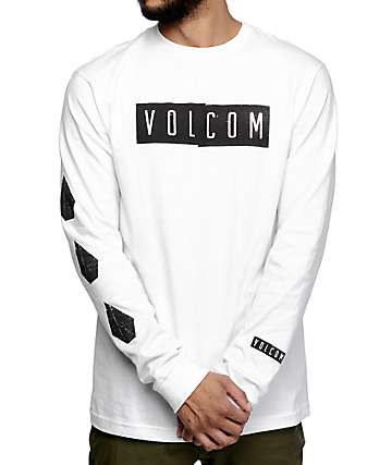 Volcom Shifty White Long Sleeve T-Shirt