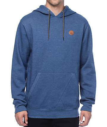 Volcom Single Stone Blue Hoodie