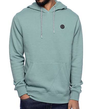 Volcom Single Stone Green Hoodie