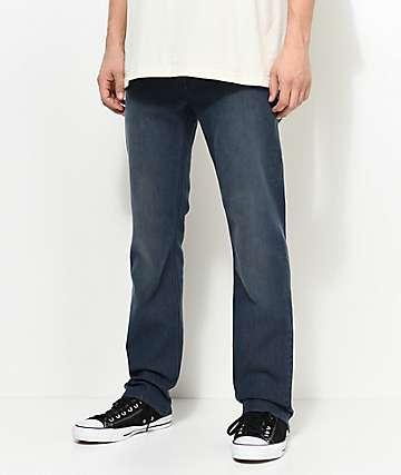 Volcom Solver jeans estrechos en azul gris