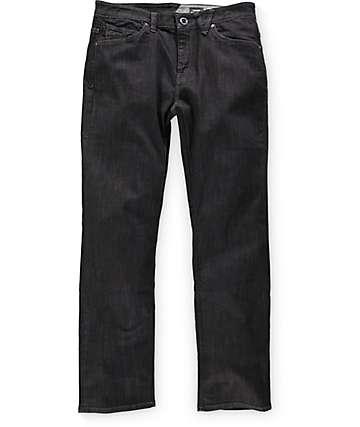 Volcom Solver jeans lavados negros
