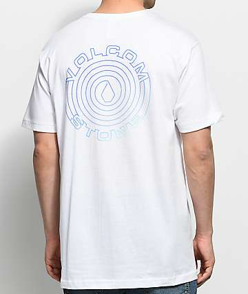 Volcom Sound Maze White Pocket T-Shirt