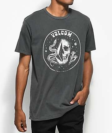 Volcom Stone Trippin Black T-Shirt