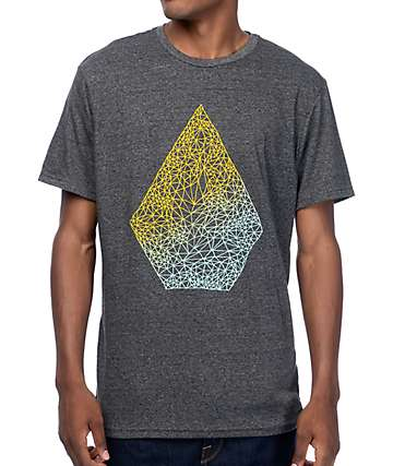 Volcom Stoney Heather Charcoal T-Shirt