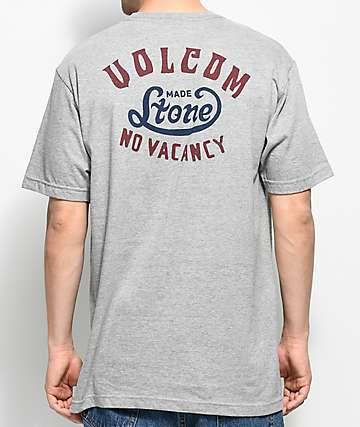 Volcom Strike Heather Grey Pocket T-Shirt