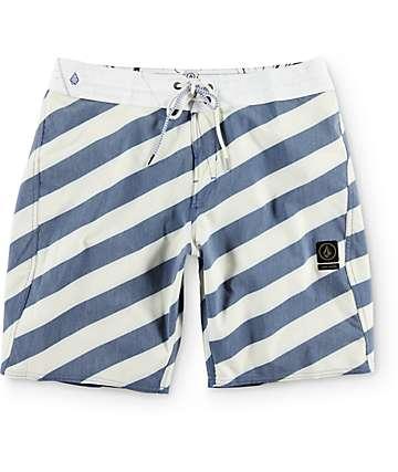 "Volcom Stripey Slingers 19"" Board Shorts"