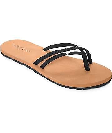 Volcom Thrills sandalias negras