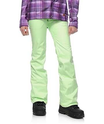 Volcom Transfer Neon Green 10K Snowboard Pants