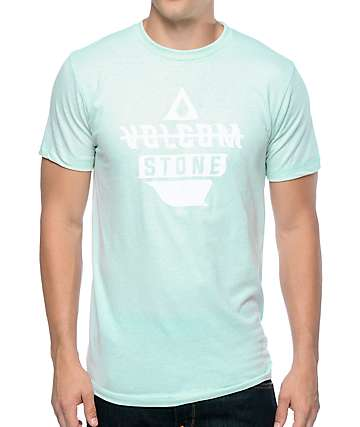 Volcom Twitch Light Blue T-Shirt