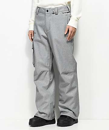 Volcom Ventral Heather Grey 10k Snowboard Pants