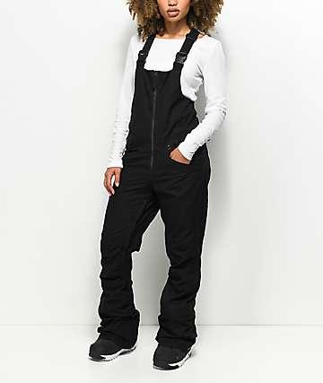 Volcom Verdi Black 15K Snowboard Bib Pants