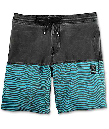 "Volcom Vibes Half Stoney Blue 19"" Board Shorts"