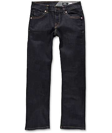 Volcom Vorta Boys Rinse jeans rectos ceñidos