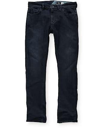 Volcom Vorta Form BDR jeans ceñidos en azul oscuro