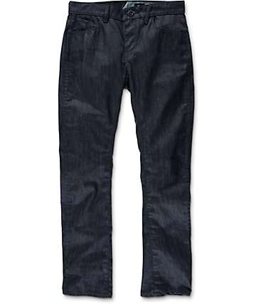 Volcom Vorta Form Indigo Raw Slim Fit Jeans