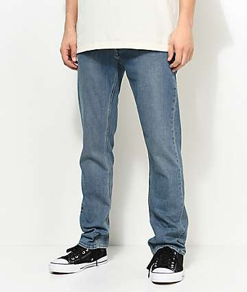 Volcom Vorta Medium Blue Slim Fit Jeans