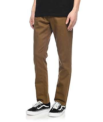 Volcom Vorta Slub jeans marrones