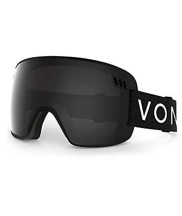 Von Zipper Alt Black Chrome Snowboard Goggles
