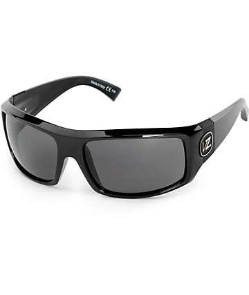Von Zipper Clutch gafas de sol en negro brillante y gris