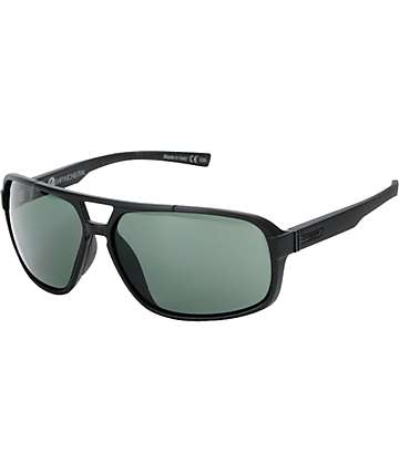 Von Zipper Decco Black Satin Sunglasses
