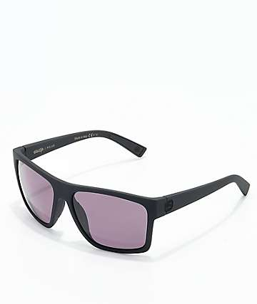 Von Zipper Dipstick Polarized Black Satin & Rose Sunglasses