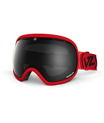 Von Zipper Fishbowl Spaceglaze Red & Chrome Snow Goggles